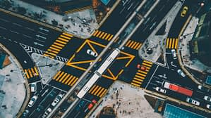 a big intersection