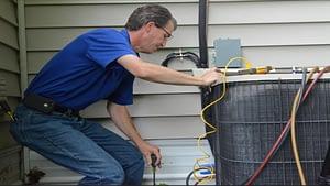 repairing an aircon