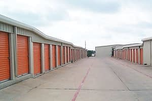 self-storage warehouses